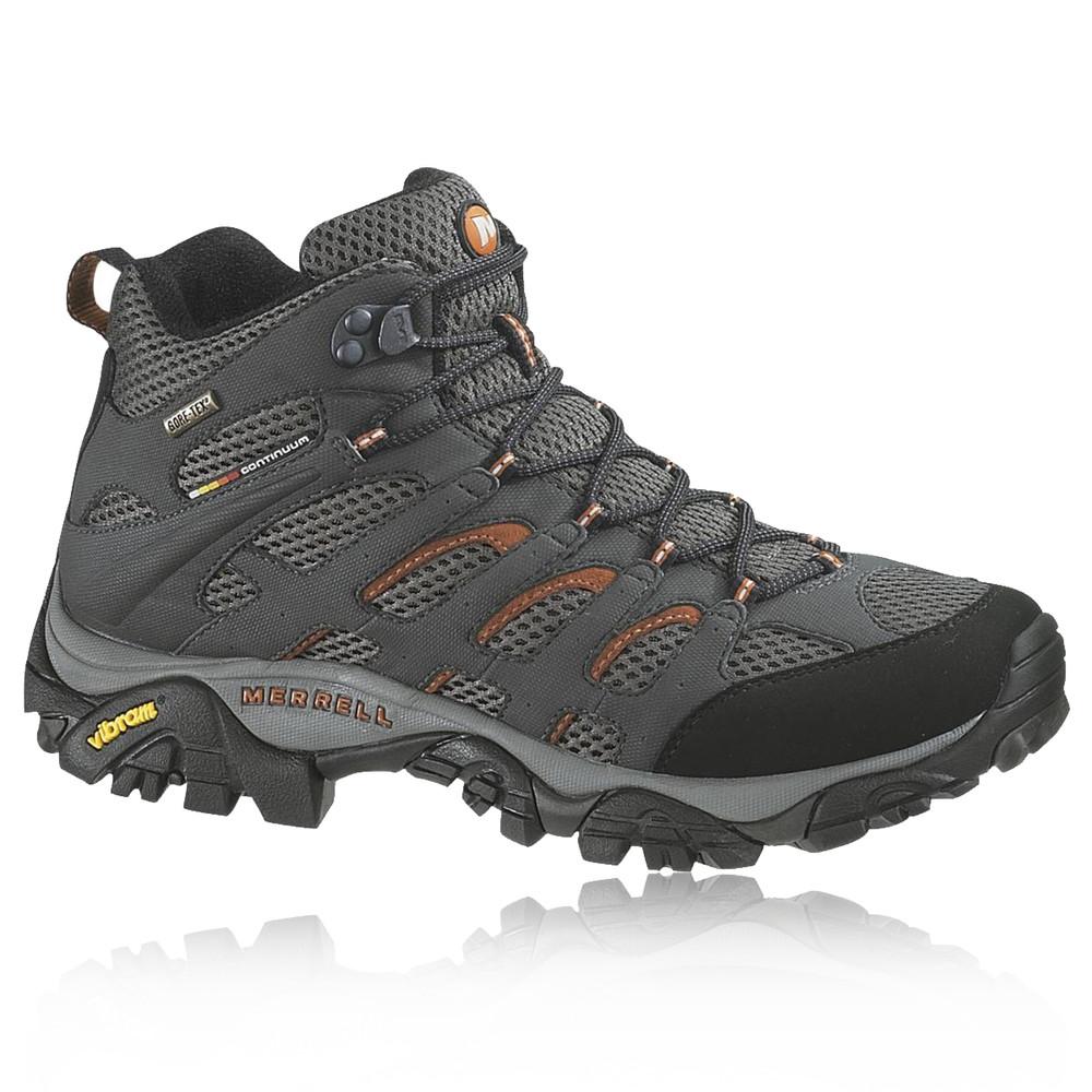 Mens Mid Top Waterproof Walking Shoes