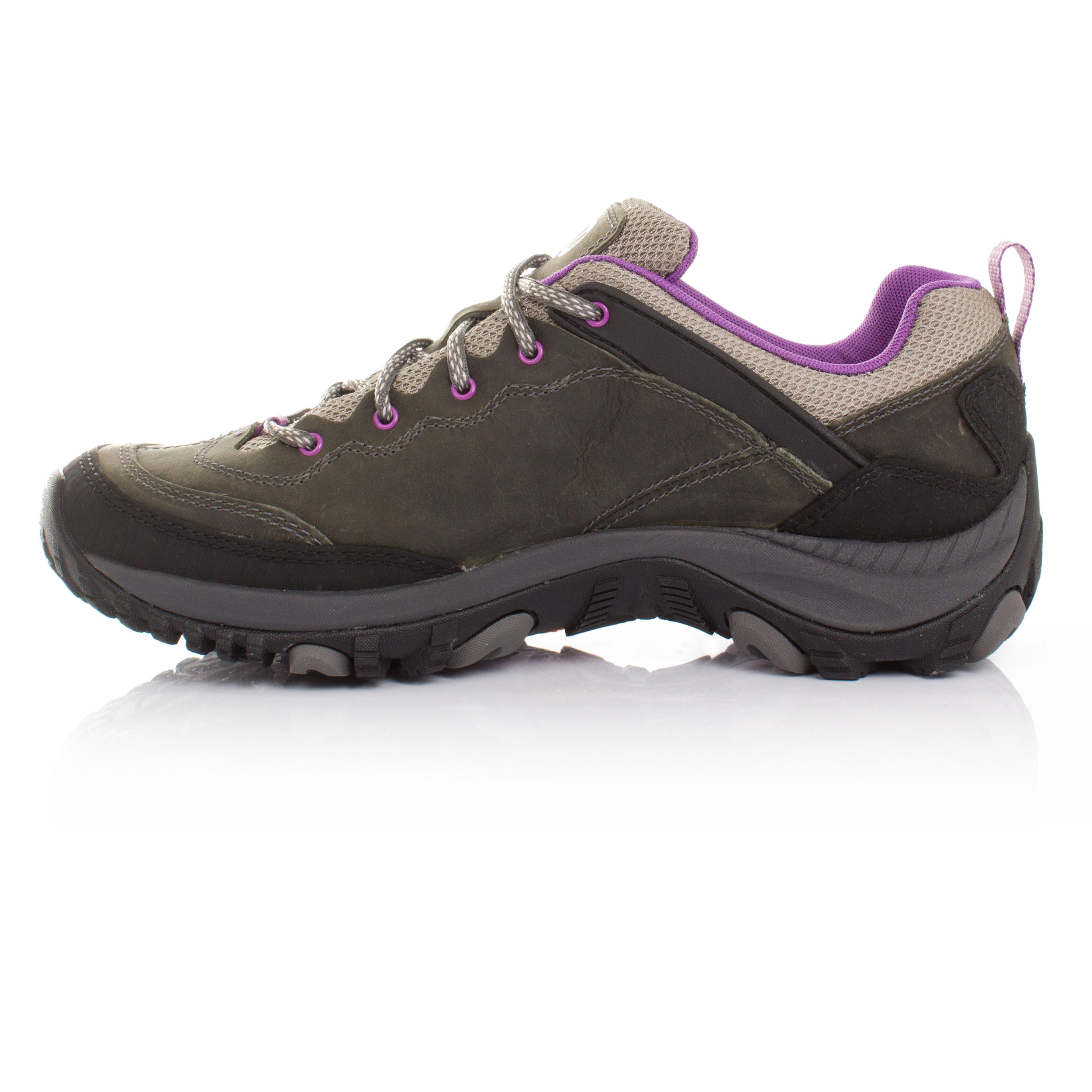 Gris Trekker Zapatos Running Trail Merrell Salida Mujer Zapatillas BSRTxTOn