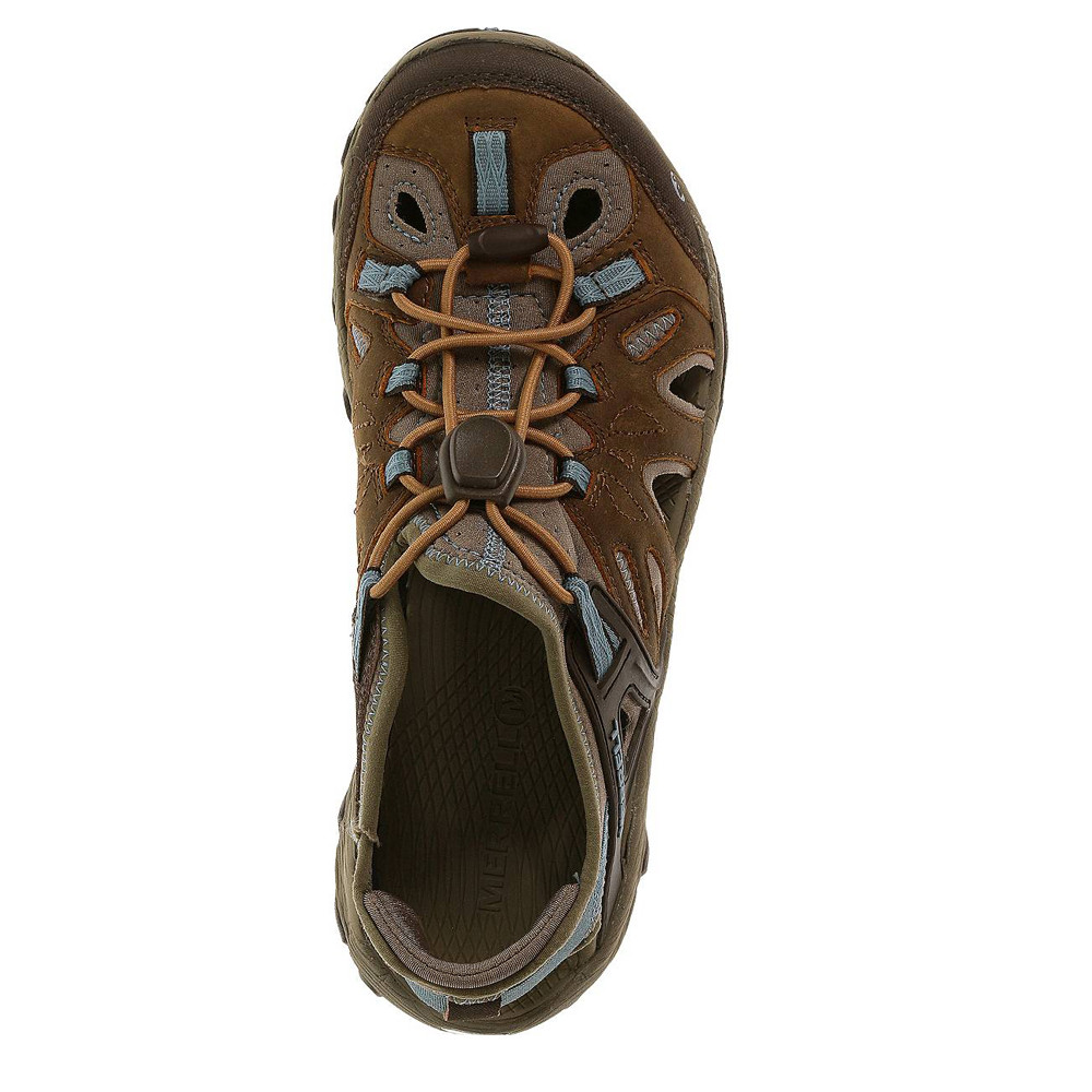 Beautiful Womens Cole Haan Brown Oiled Leather Hiking Boot 95 M Brazil  EBay