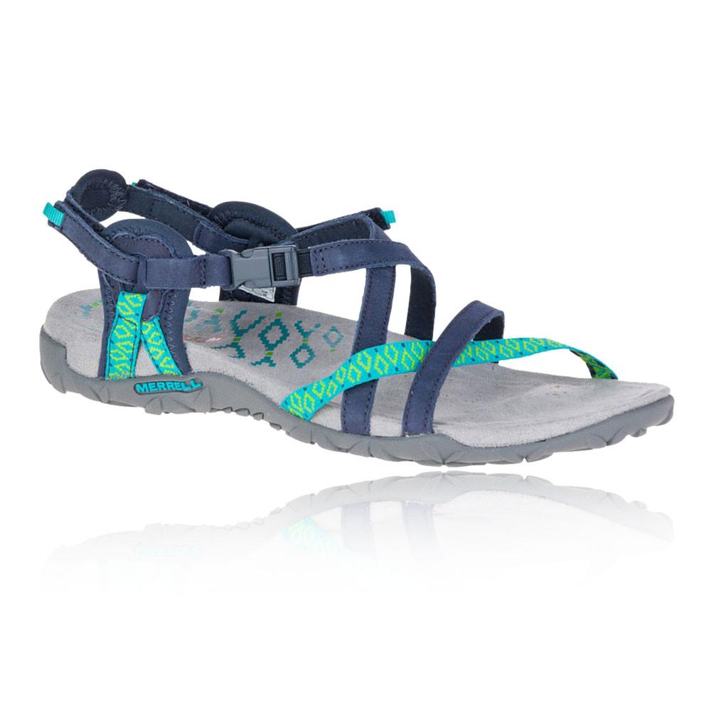 Détails sur Merrell Femmes Terran Lattice Ii Chaussures De Sport Baskets Sandales Bleu