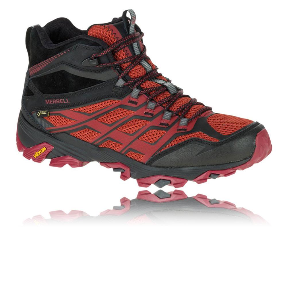 Black Gore Tex Walking Shoes