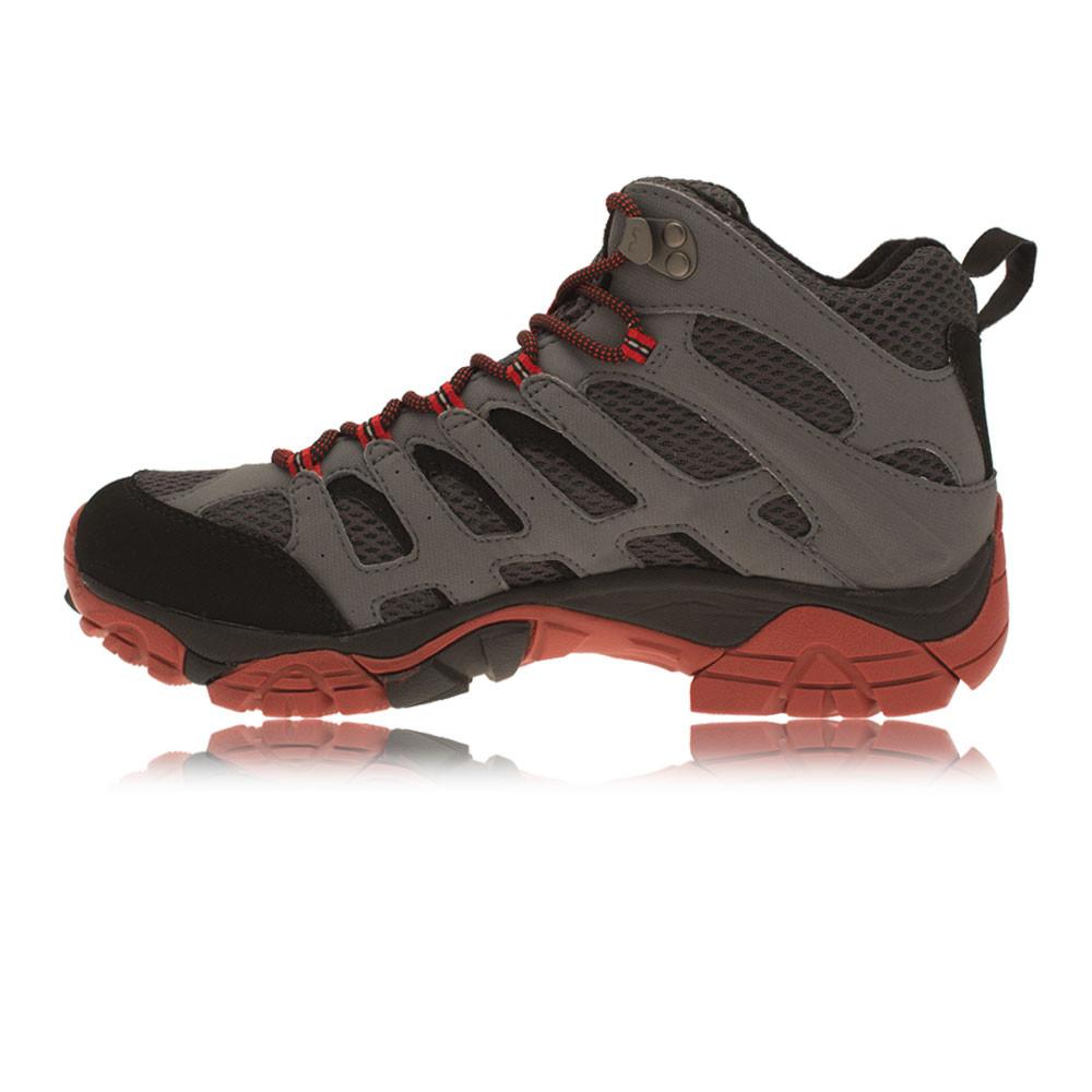 Merrell Moab Mid Mens Gore Tex Waterproof Walking Hiking Sports Boots Shoes | EBay