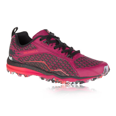 MERRELL ALL OUT CRUSH TOUGH MUDDER WOMEN'S TRAIL RUNNING SHOES - AW16