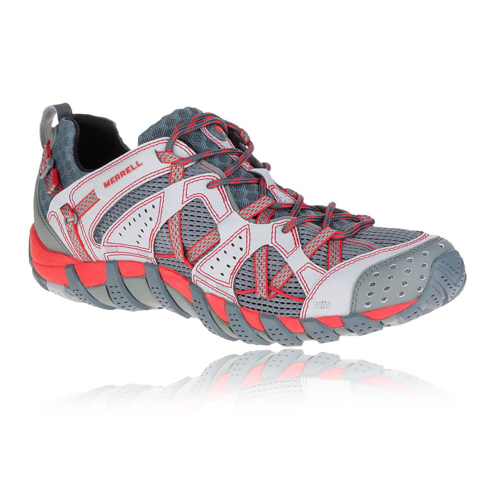 Merrell-Waterpro-Maipo-Mens-Red-Grey-Outdoors-Camping-