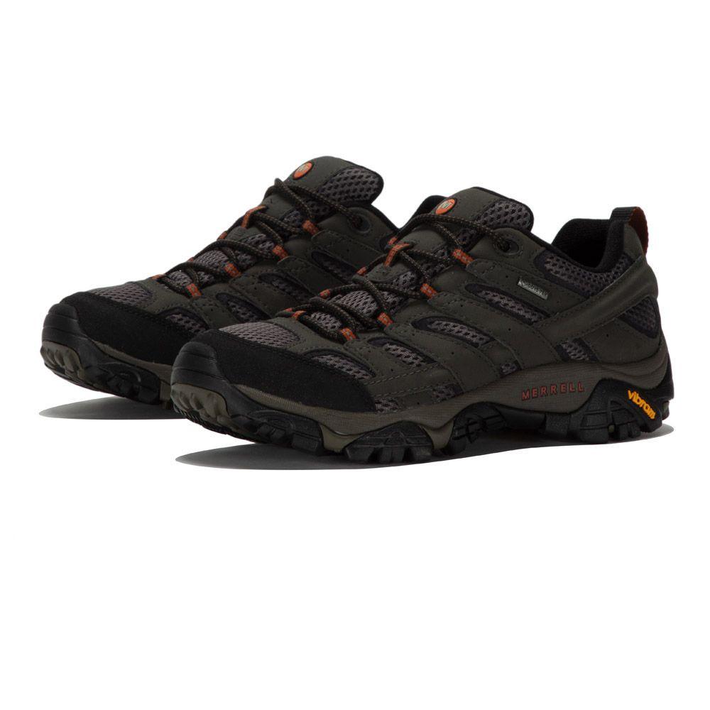 merrell moab 2 gtx hiking shoe - mens gold