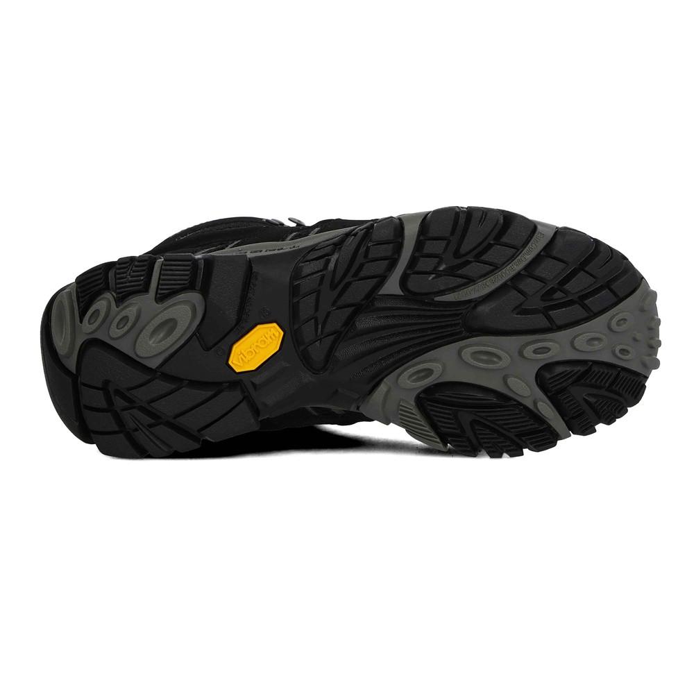 Détails sur Merrell Femmes Moab 2 Mid Gore Tex Chaussures De Marche Noir Sport Extérieur