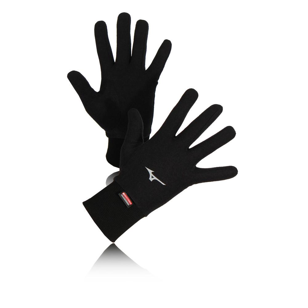 Mizuno Breath Thermo Mid Weight in felpa guanti da corsa
