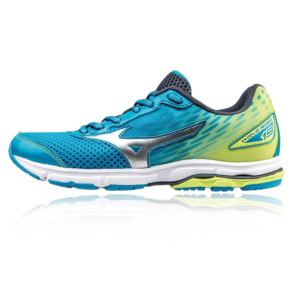 mizuno wave rider 19 junior running shoes ss16 50 off. Black Bedroom Furniture Sets. Home Design Ideas