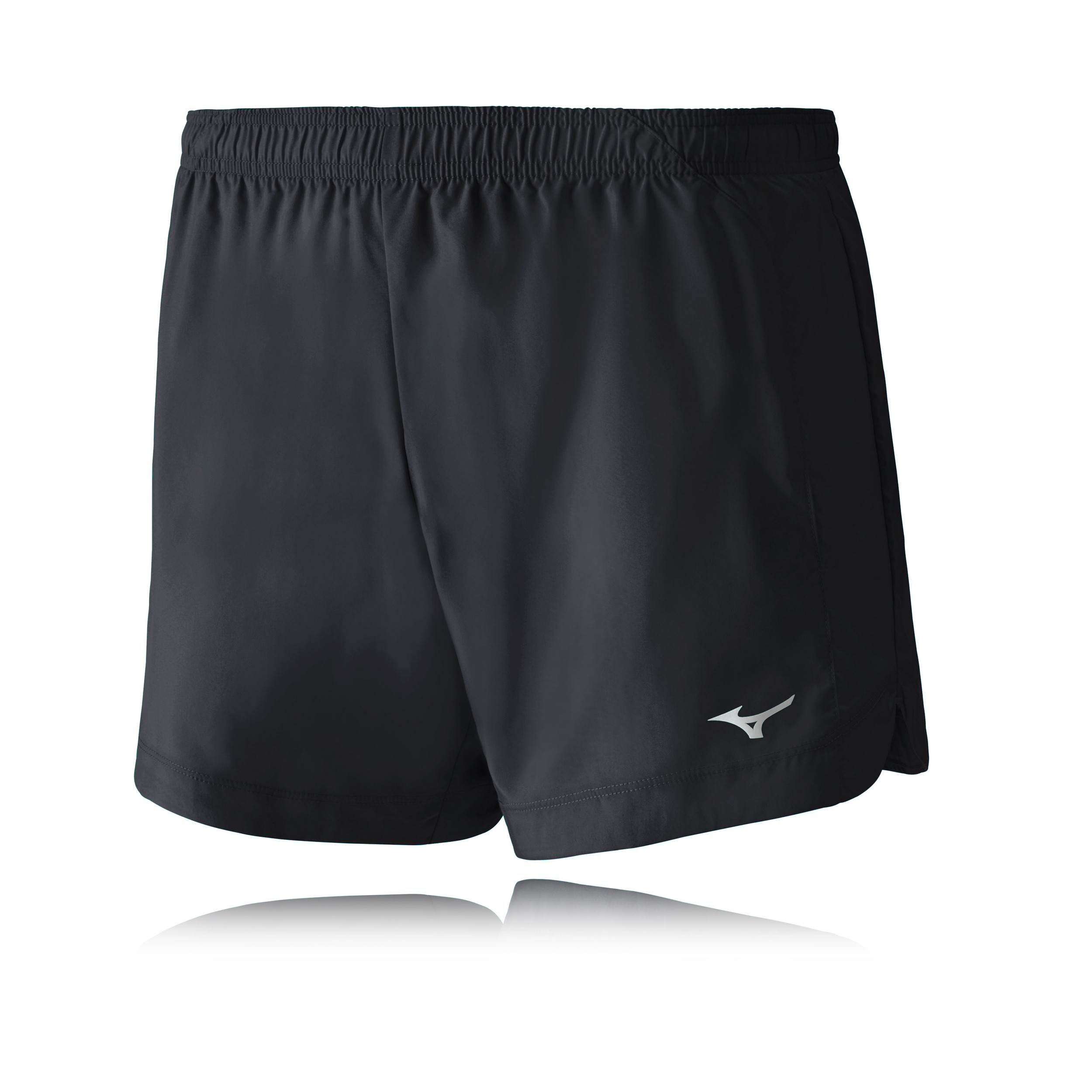 Details about Mizuno Core Square 5.5 Womens Black Outdoors Running Shorts Pants Bottoms