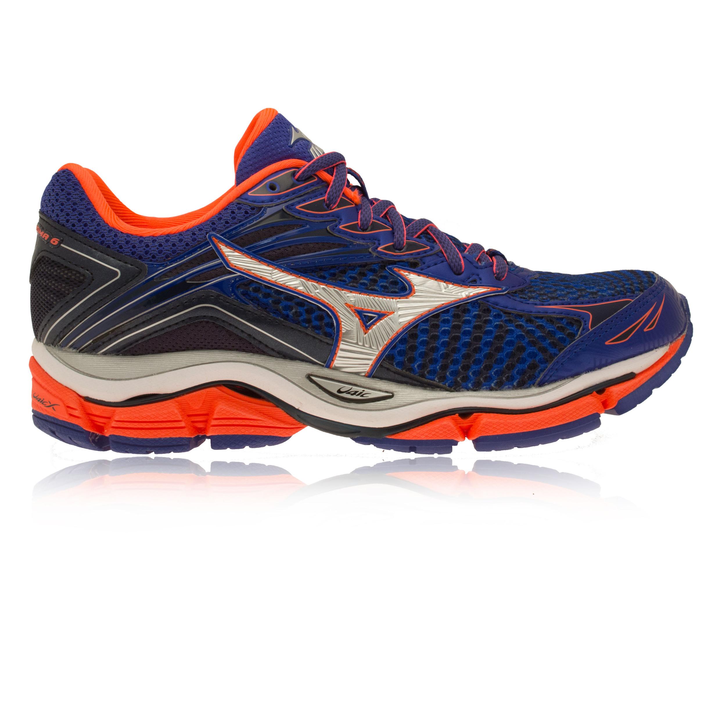 Zapatos Mujer Enigma Entrenar Wave 6 Mizuno Acolchado Running B40ntT