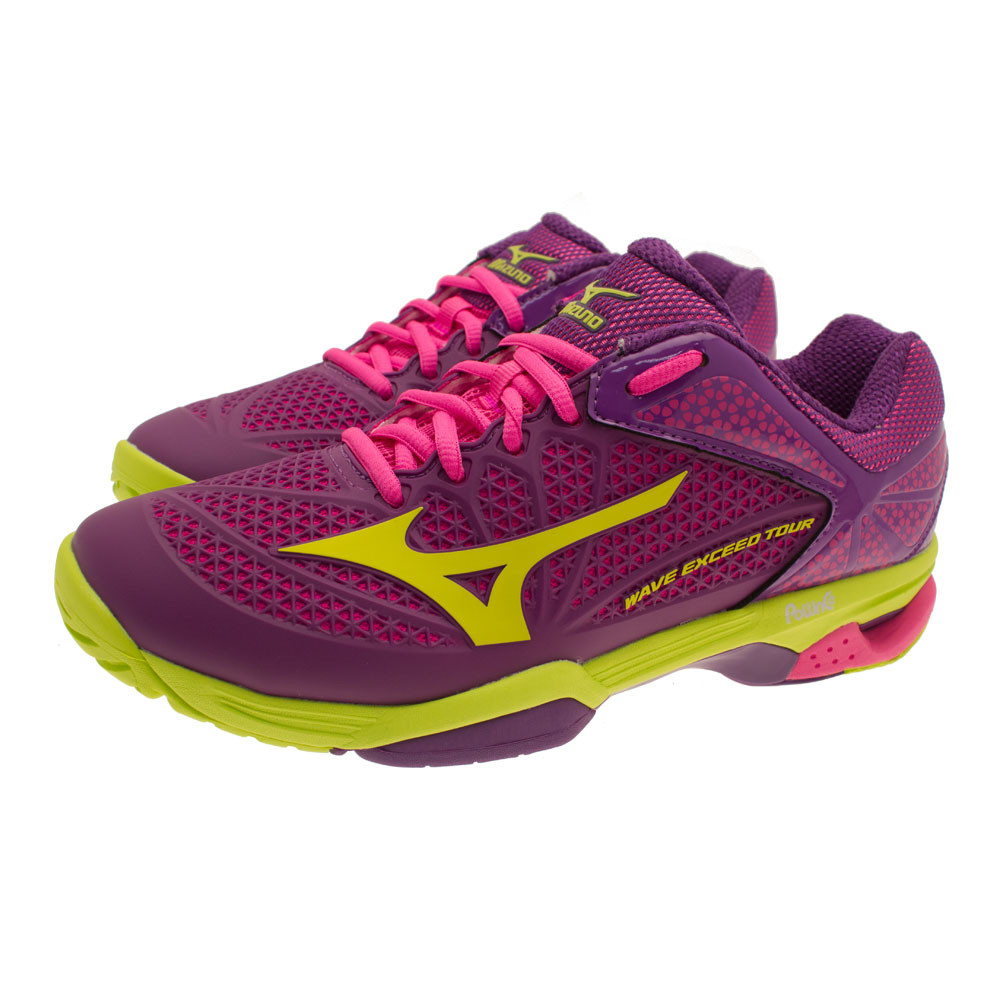 mizuno wave exceed tour 2 s tennis shoes 50