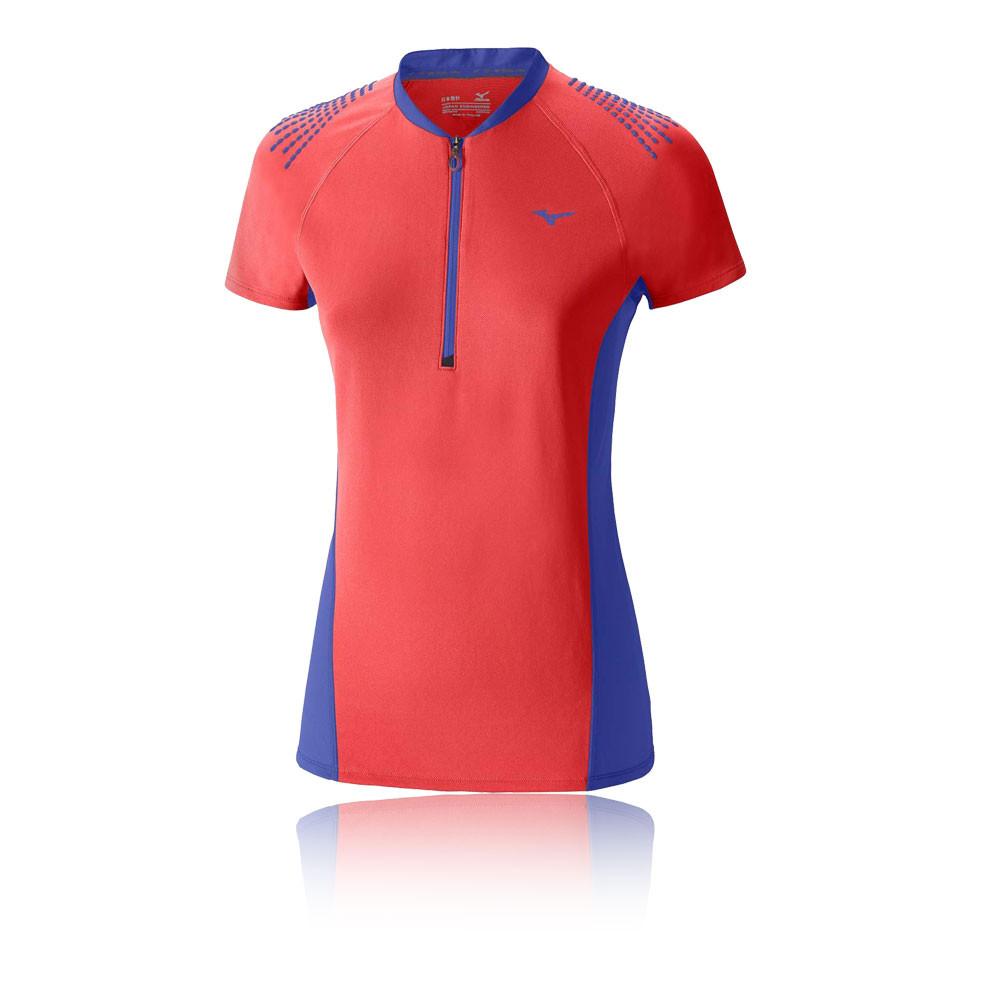 Mizuno Mujin Half Zip Women 39 S Running T Shirt Aw16