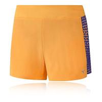 Mizuno Phenix Printed Square 4.0 para mujer running pantalones cortos
