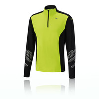 Mizuno Vortex Warmalite 1/2 cremallera camiseta de running