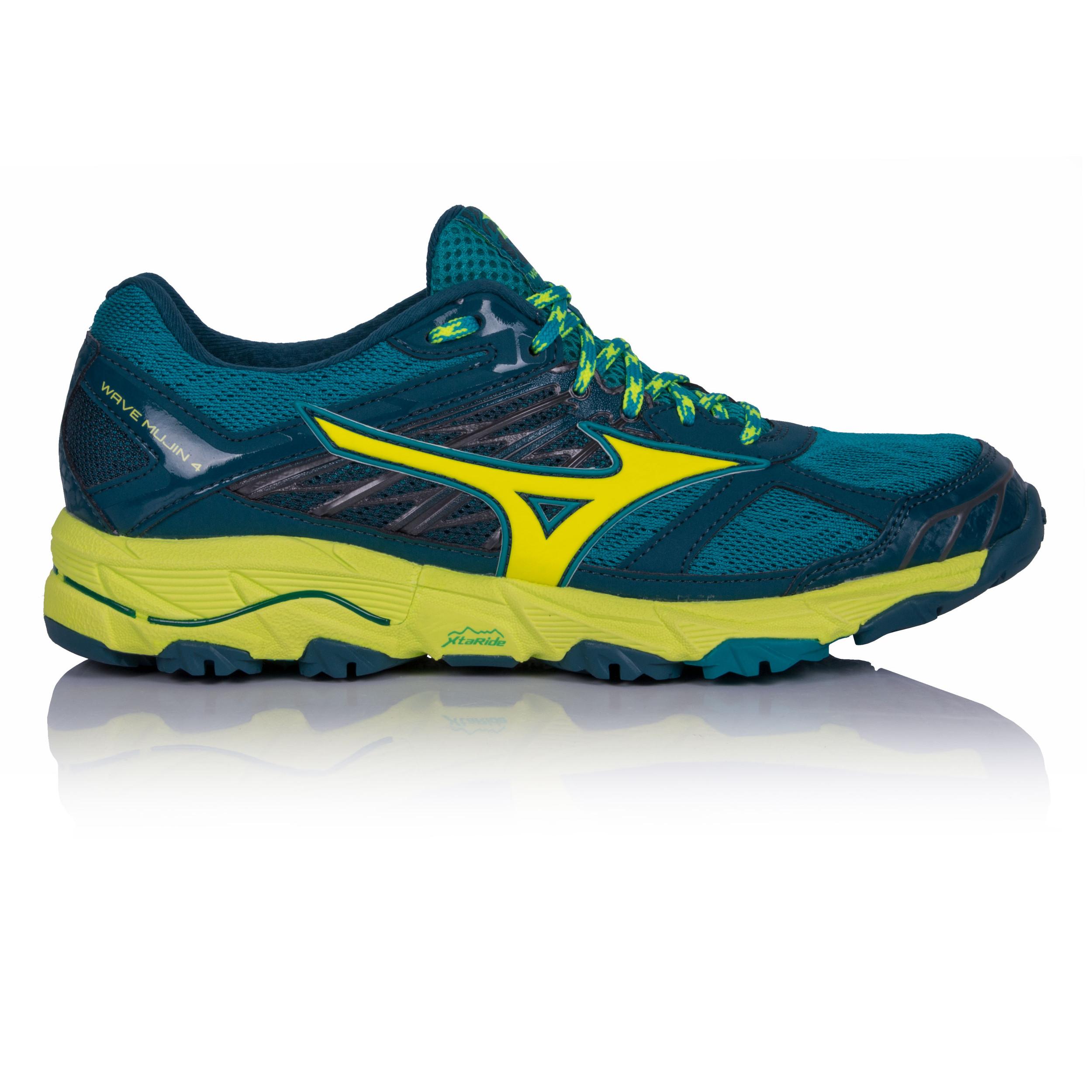 e726334142 Mizuno Damen Grün Wave Mujin 4 Trail Laufschuhe Jogging Sport Schuhe  Turnschuhe