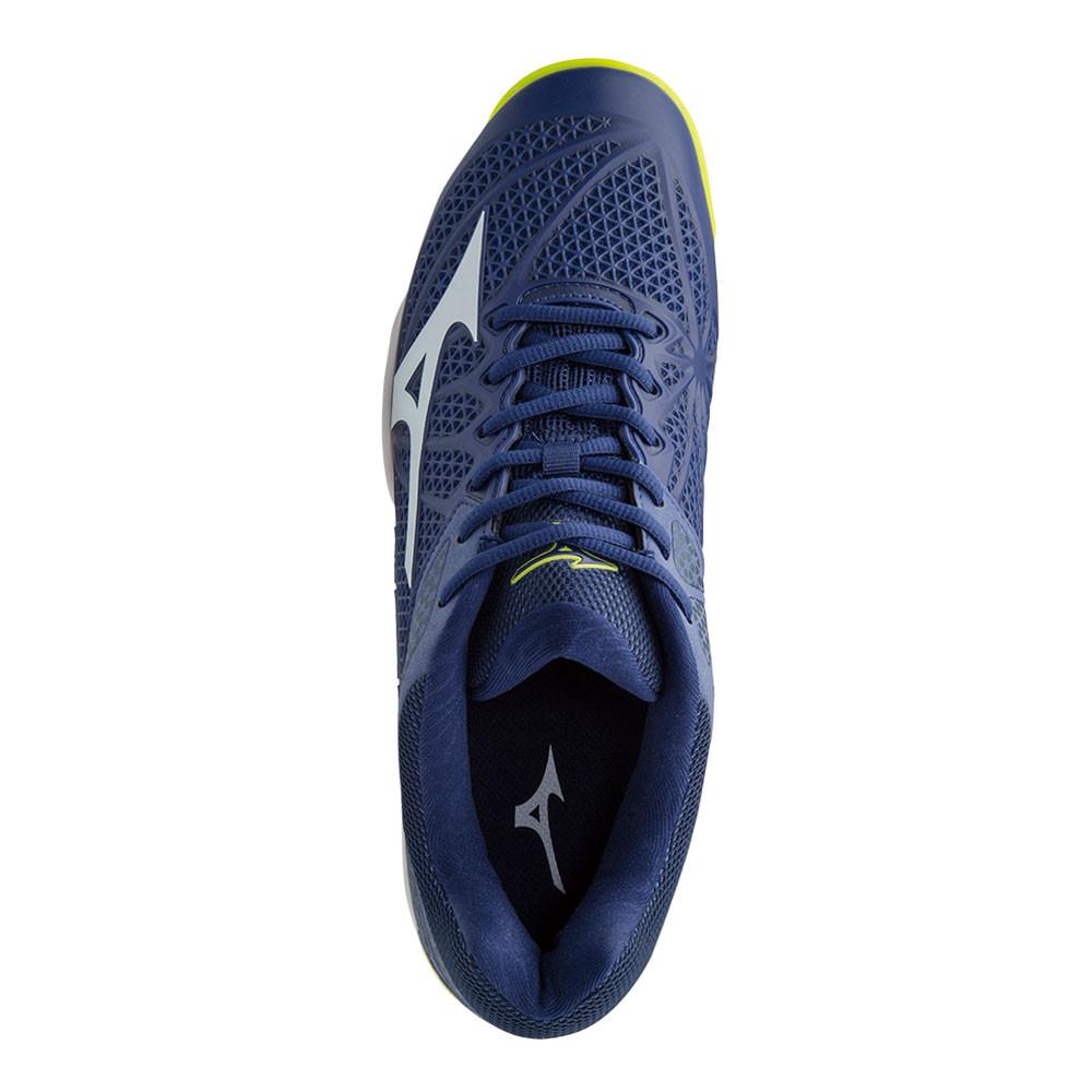 Mizuno Wave Exceed Tour 2 All Mens Blue Court Tennis Shoes Trainers Pumps 597d3096dfa