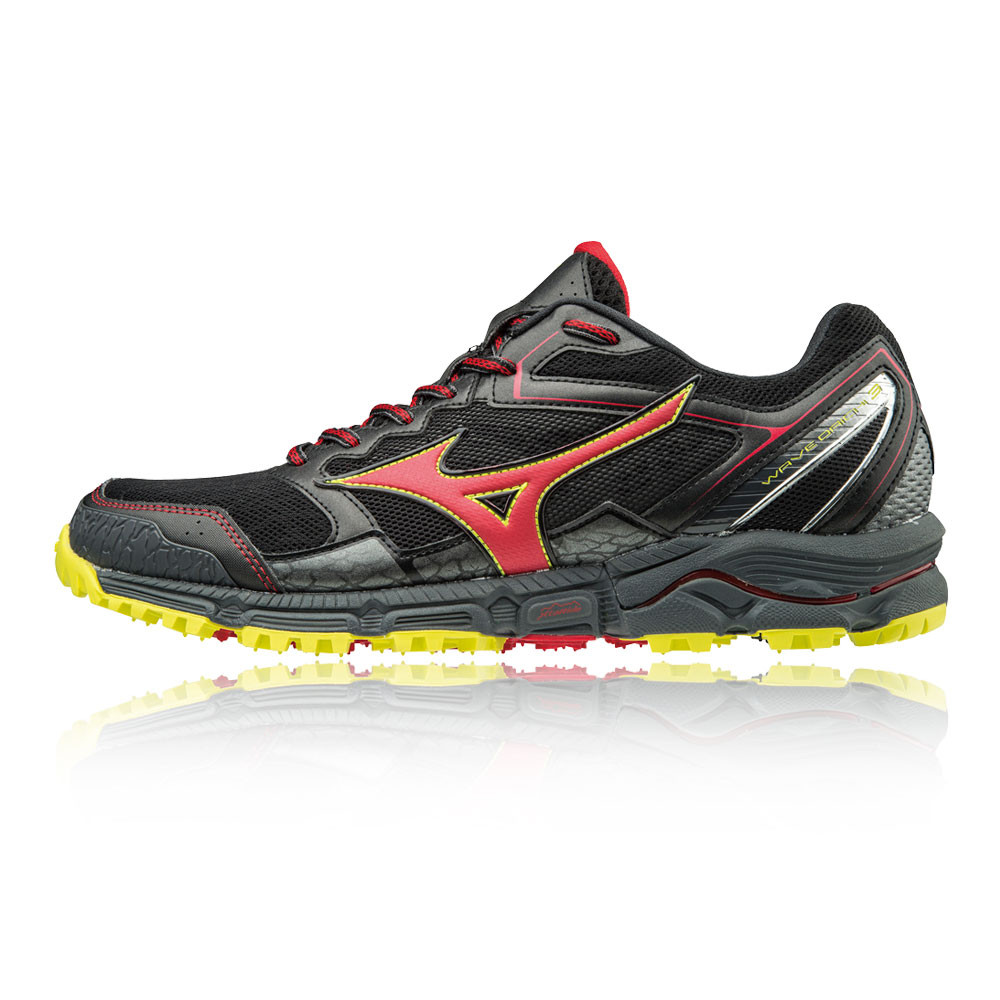 pretty nice 26de8 0f1e2 Details about Mizuno Mens Wave Daichi 3 Trail Running Shoes Trainers  Sneakers Black Sports