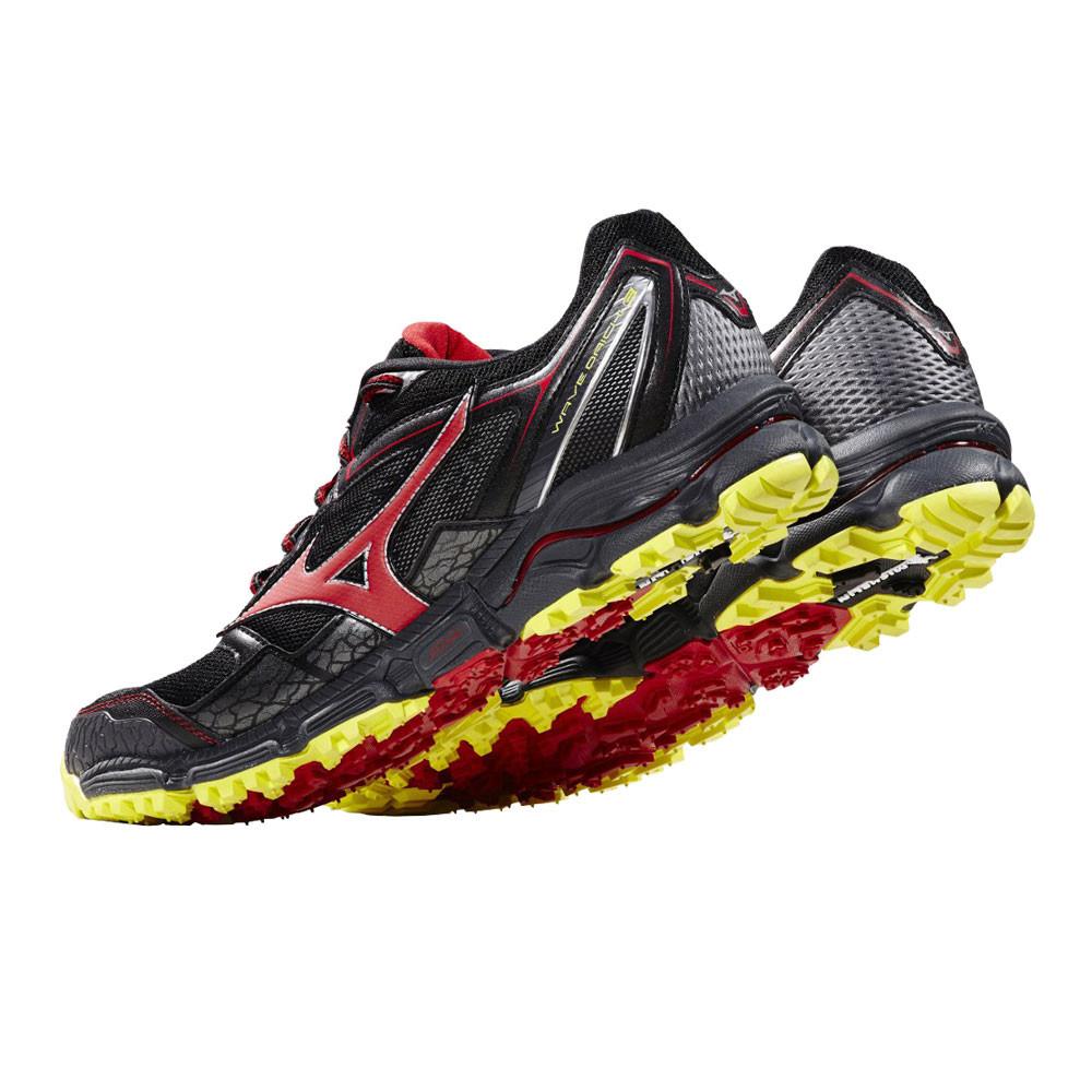 Mizuno Mens Wave Daichi 3 Trail Running Shoes Trainers Sneakers Black Sports c5c22361a4b