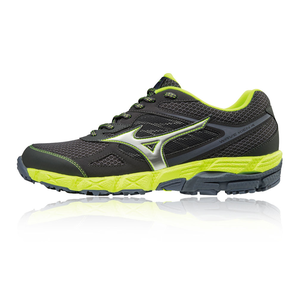 4 Wave Sneakers Trail Trainers Mens Shoes Running Black Kien Mizuno 4ftxqOw