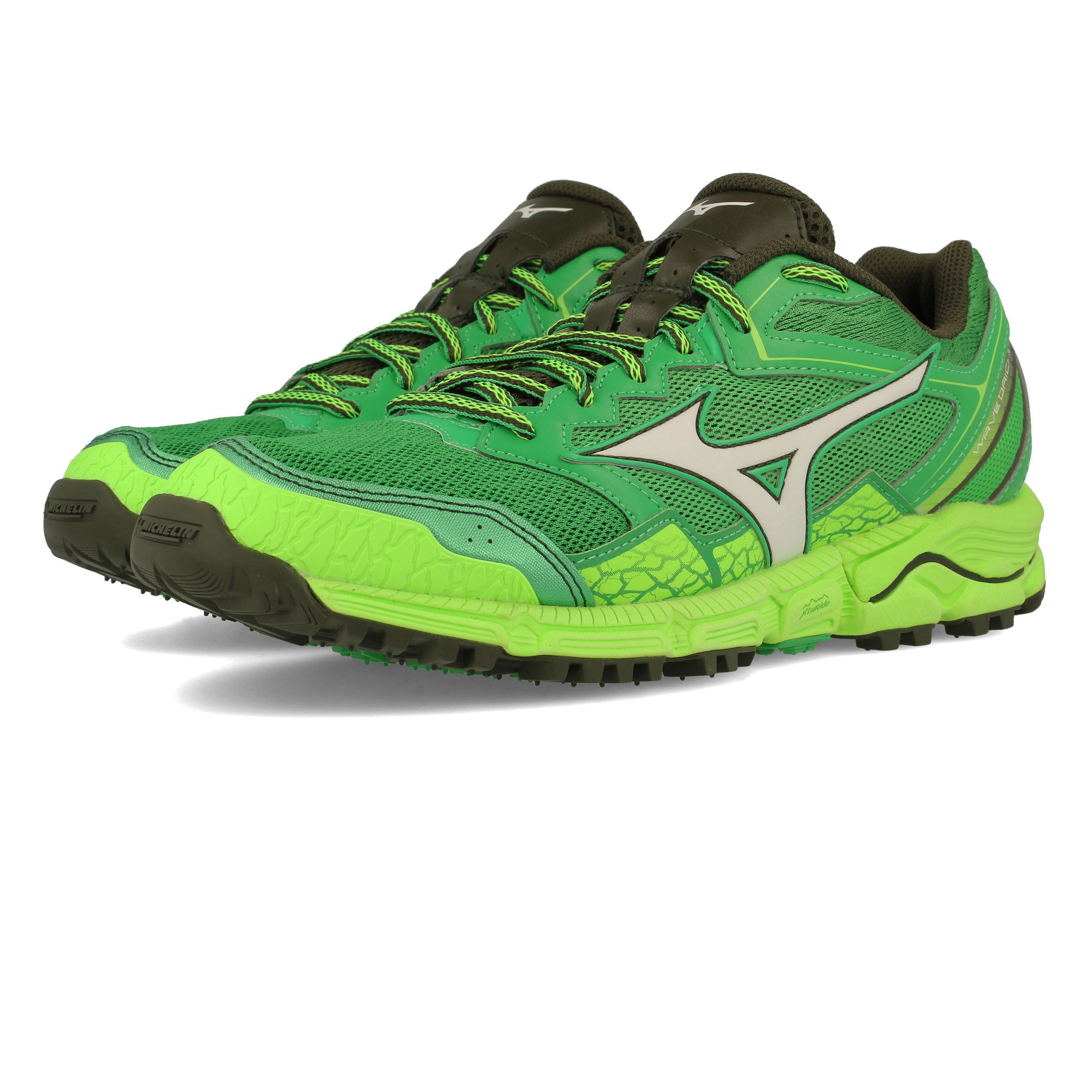 new styles 31bb3 76243 Details about Mizuno Mens Wave Daichi 3 Trail Running Shoes Trainers  Sneakers Green Sports