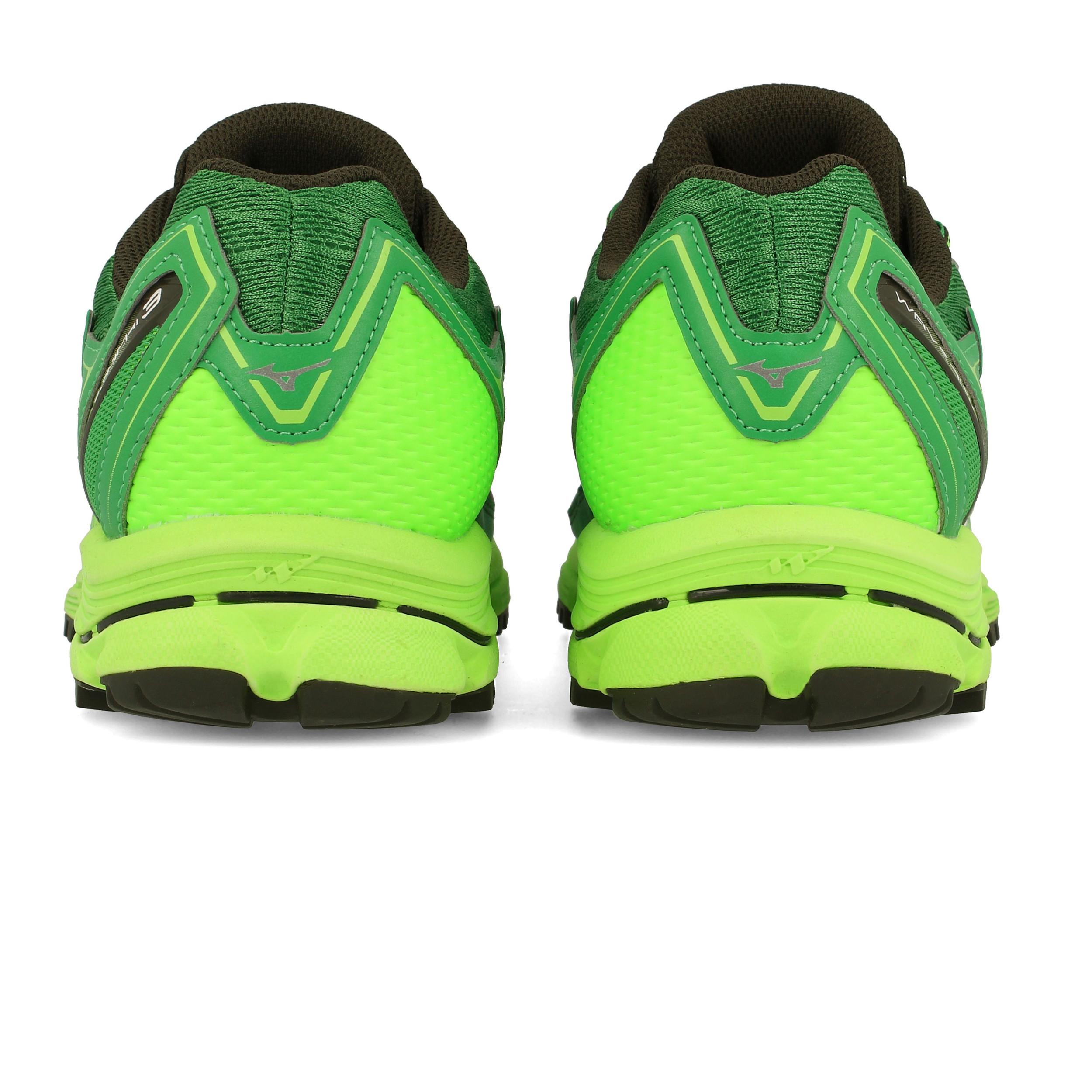 Mizuno Mens Wave Daichi 3 Trail Running Shoes Trainers Sneakers Green Sports 79992faa8f3