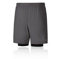 Mizuno Alpha 7.5 2in1 Running Shorts
