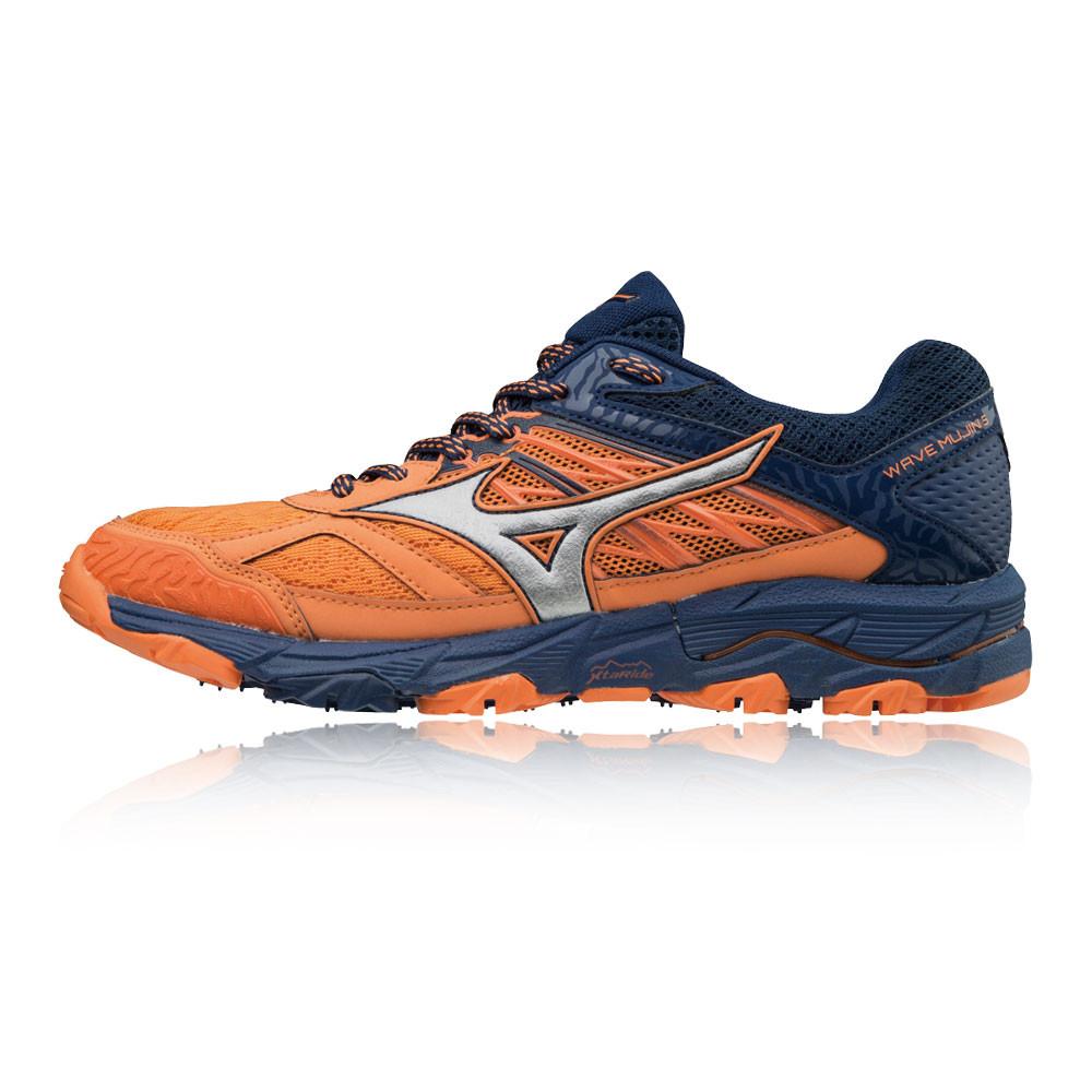 newest 20cd7 ec9aa Mizuno Donna Wave Mujin 5 Scarpe Da Corsa Ginnastica Sport Blu Marino  Arancione