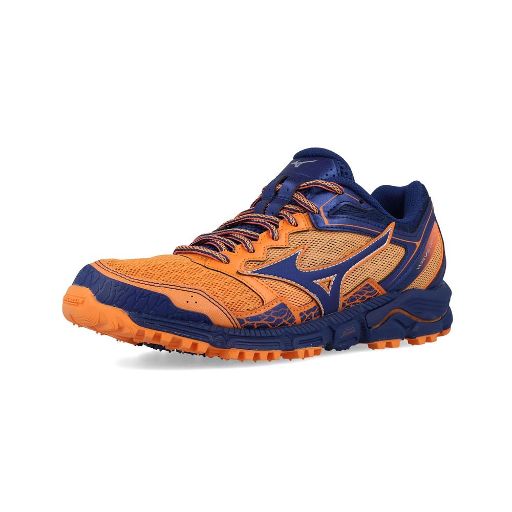 Dettagli su MIZUNO Donna Wave Daichi 3 Trail Running Scarpe da ginnastica Navy Blue mostra il titolo originale