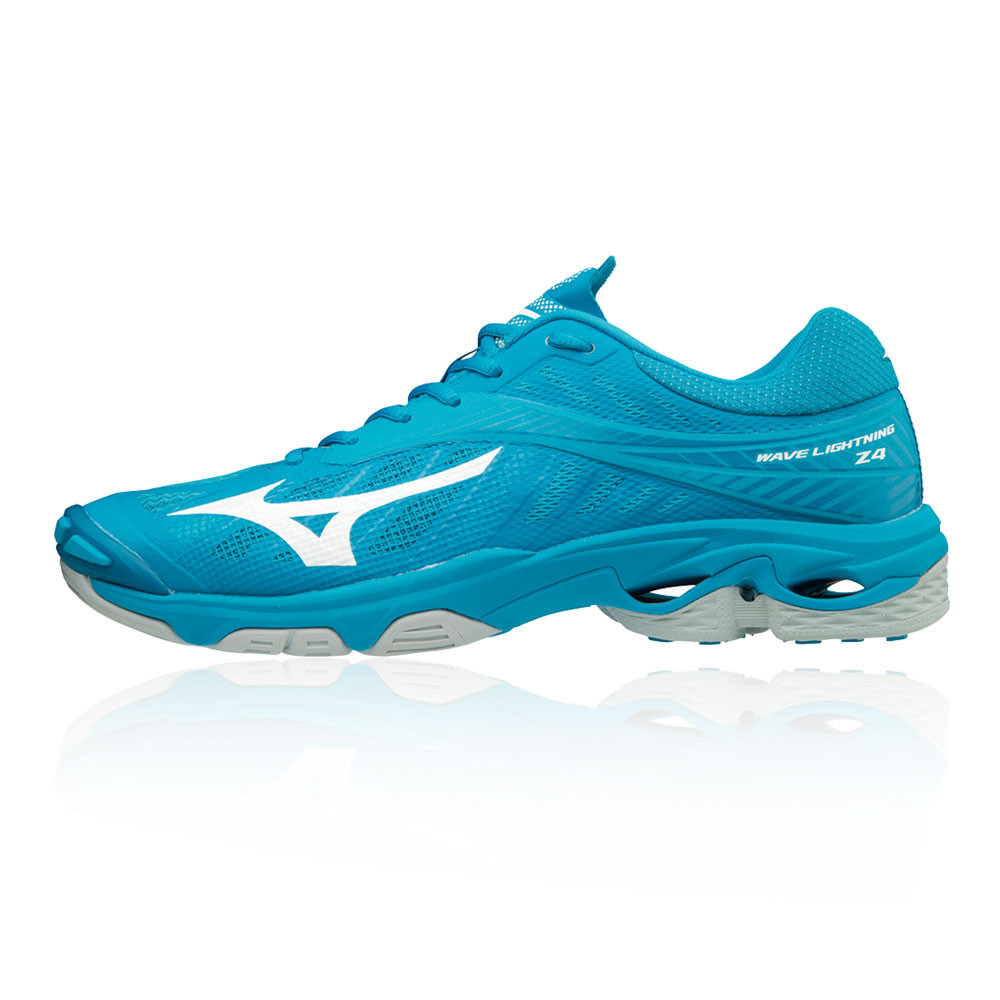 Details about Mizuno Mens Wave Lightning Z4 Indoor Court Shoes Blue Sports Handball Trainers