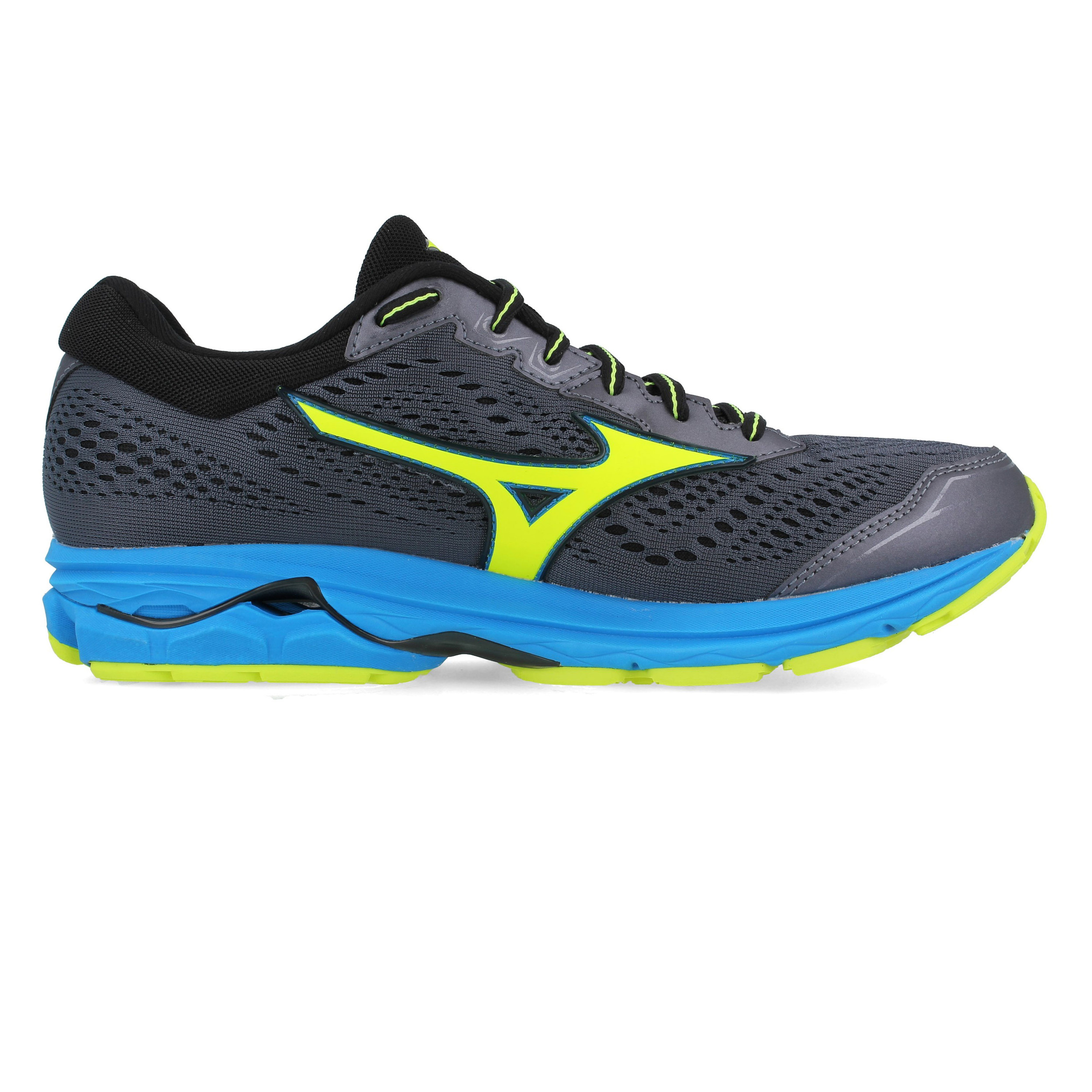 Jogging Grau Turnschuhe Laufschuhe Zu Sneaker Herren Rider Schuhe Mizuno Details Wave 22 67gybf