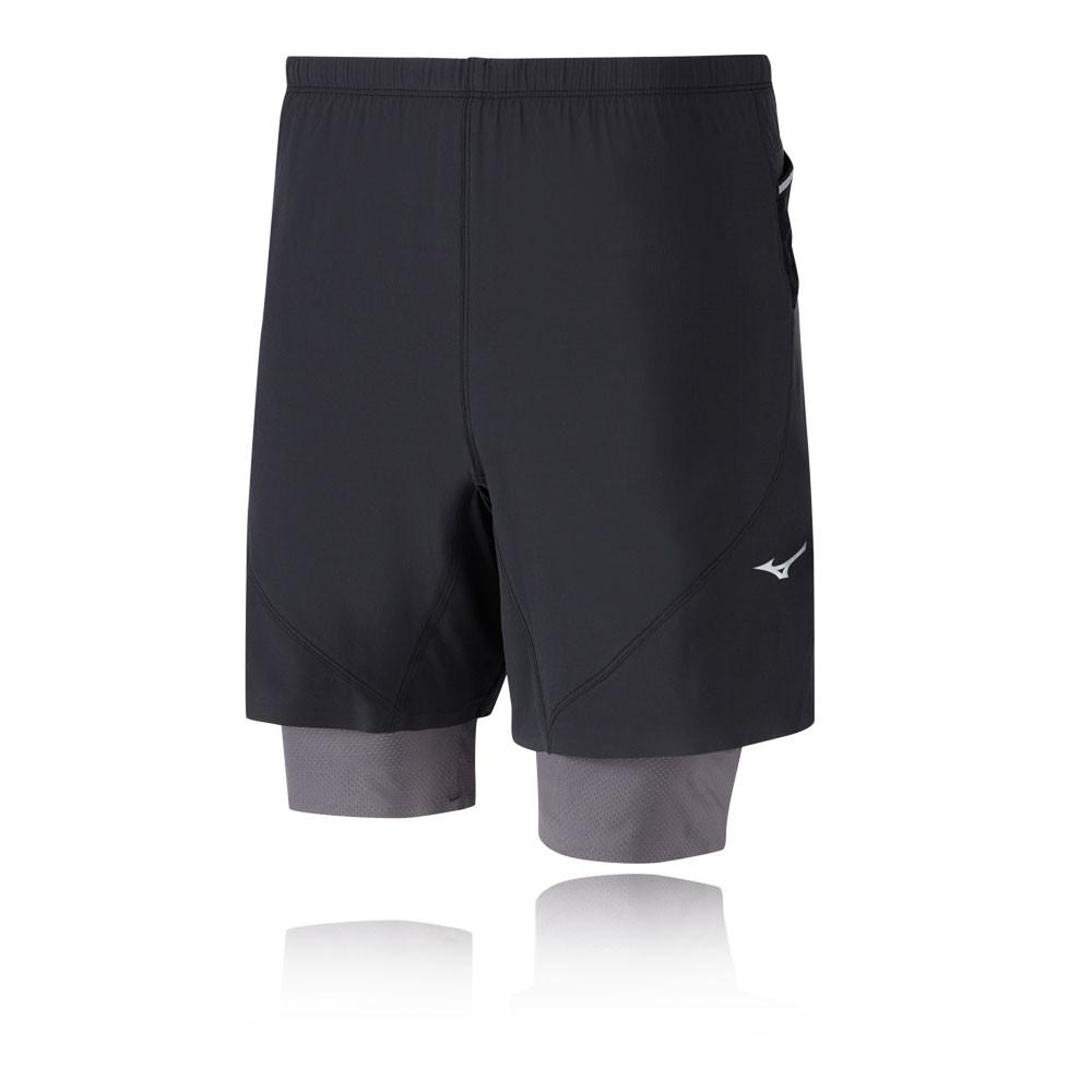 Mizuno ER 7.5 2 en 1 Pantalones cortos de running