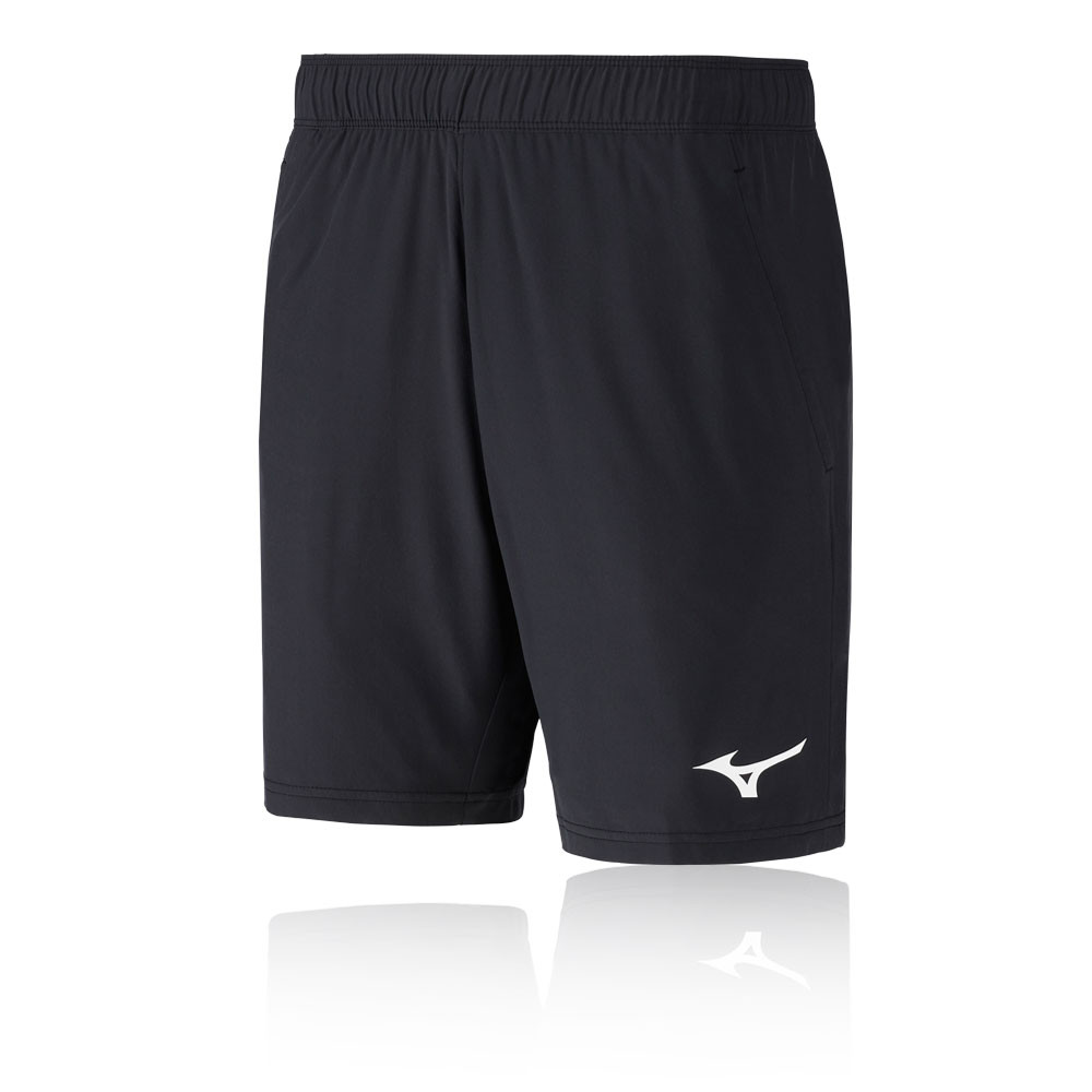 Details about Mizuno Mens Flex Running Shorts Pants Trousers Bottoms Black Sports Breathable