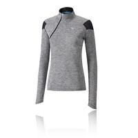 Mizuno Alpha media cremallera para mujer camiseta de running - AW18