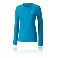 Mizuno Impulse Core Graphic Women's Long Sleeve Running Top - AW18