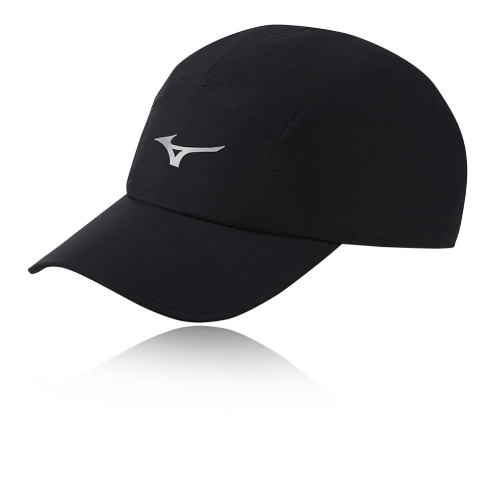 a60236d88d9 Mizuno Unisex DryLite Running Cap Black Sports Breathable Lightweight