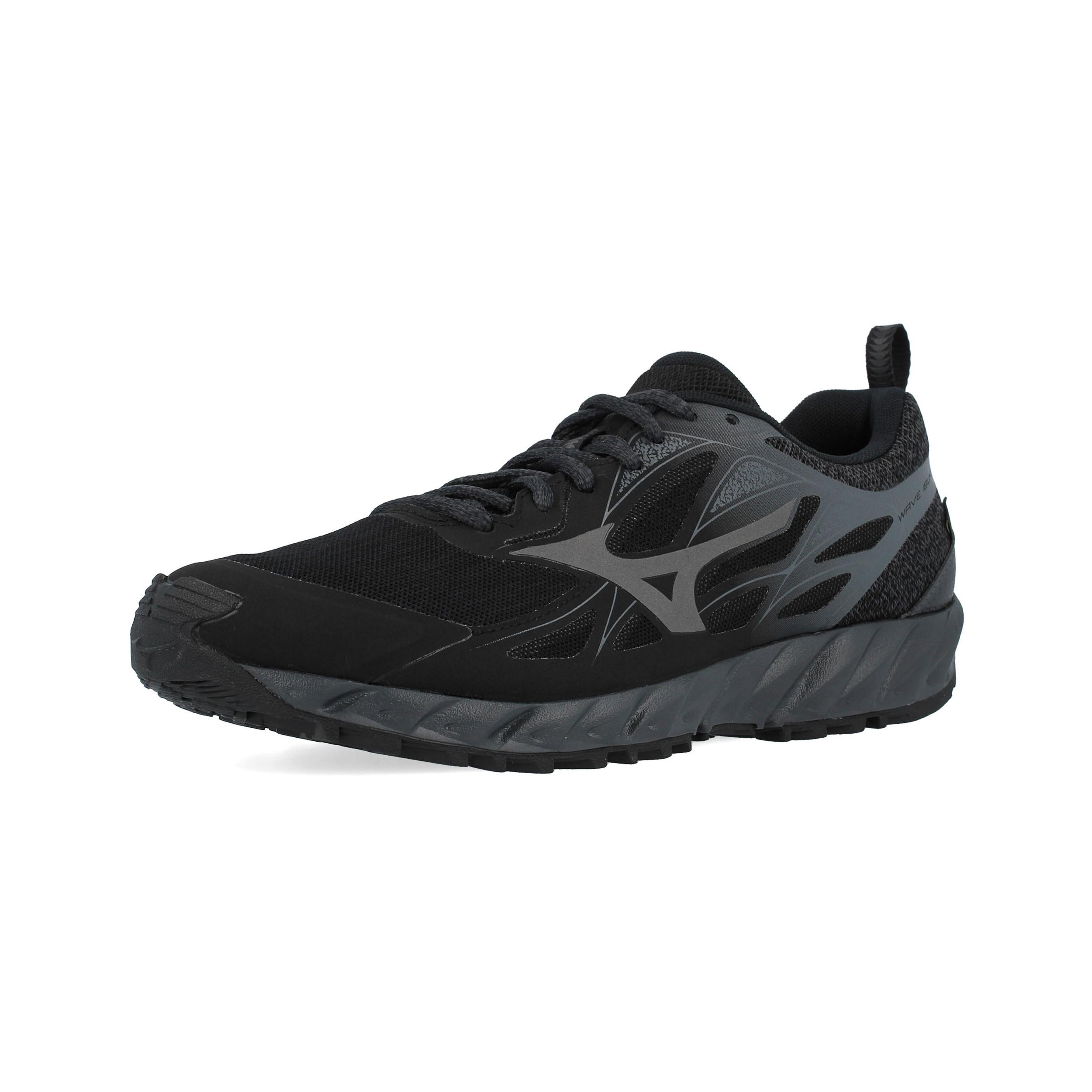 Mizuno-da-uomo-Wave-Ibuki-GORE-TEX-TRAIL-RUNNING-scarpe-da-ginnastica-Black miniatura 8