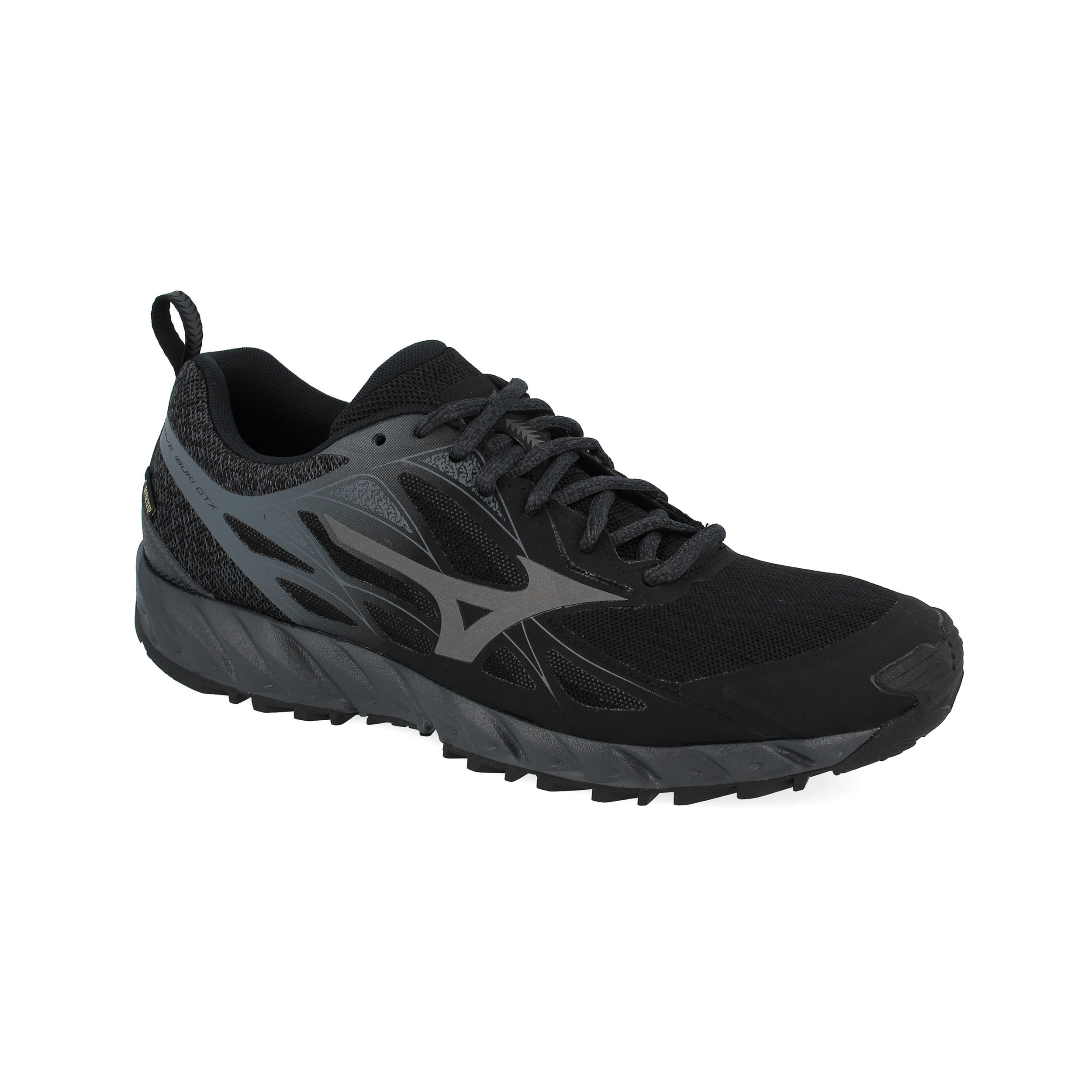Mizuno-da-uomo-Wave-Ibuki-GORE-TEX-TRAIL-RUNNING-scarpe-da-ginnastica-Black miniatura 9