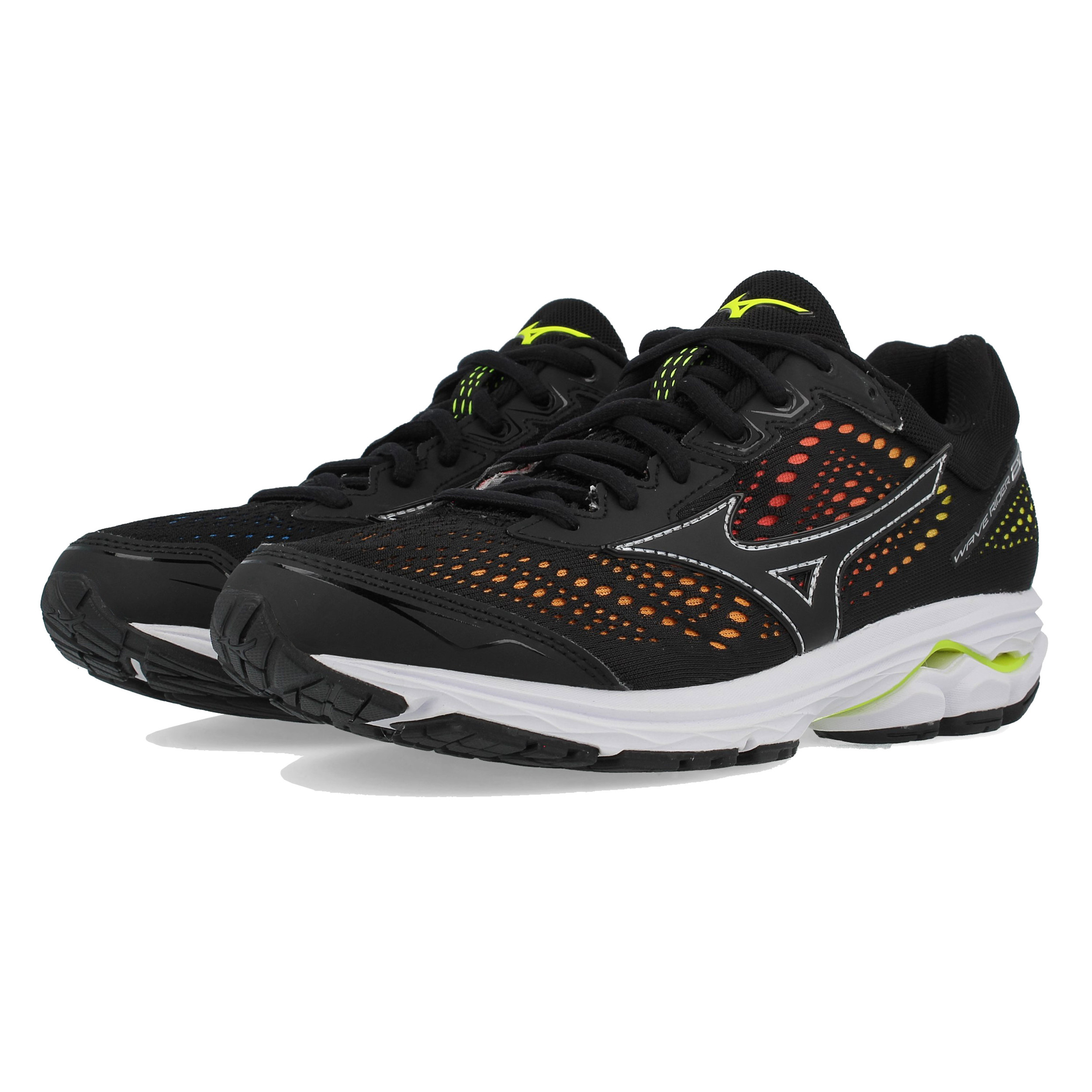 Details about Mizuno Womens Wave Rider 22 Osaka Running Shoes Trainers  Sneakers Black Sports 82f877d479c3