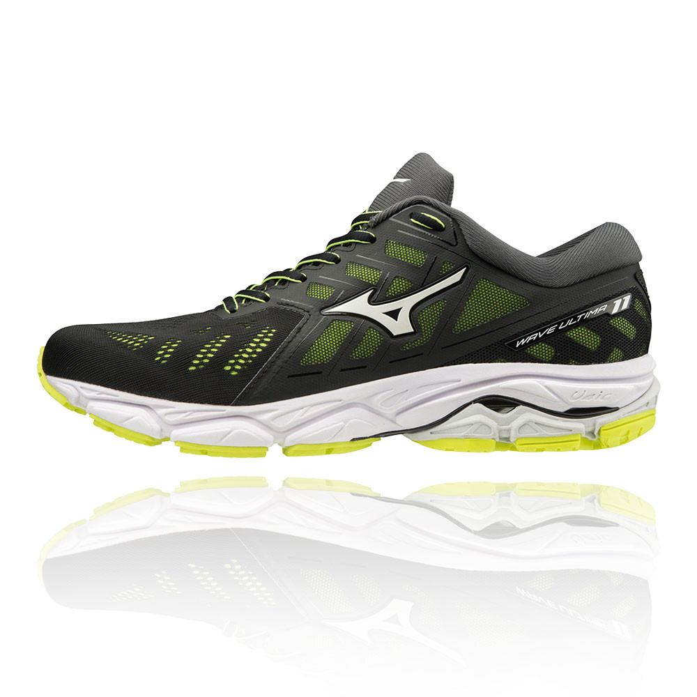 Dettagli su Mizuno Uomo Wave Ultima 11 Scarpe Da Corsa Ginnastica Sport Sneakers Verde