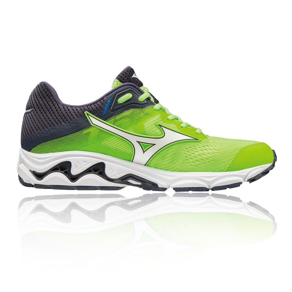 the best attitude d31af 8d370 Mizuno Hommes Wave Inspire 15 Chaussures De Course À Pied Baskets Sport Vert