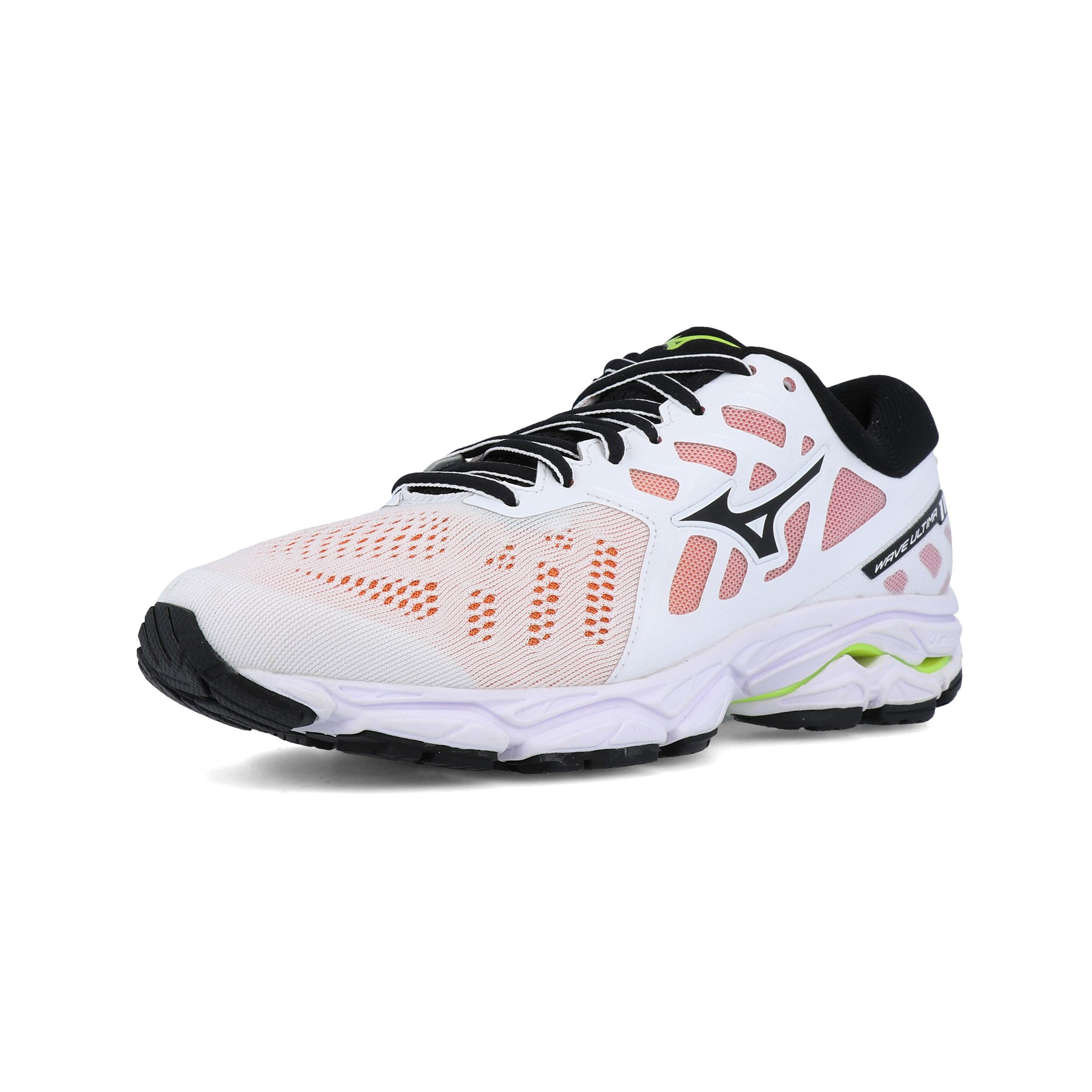 Détails sur Mizuno Femme Wave Ultima 11 Chaussures De Course Baskets Sneakers Blanc Sports afficher le titre d'origine