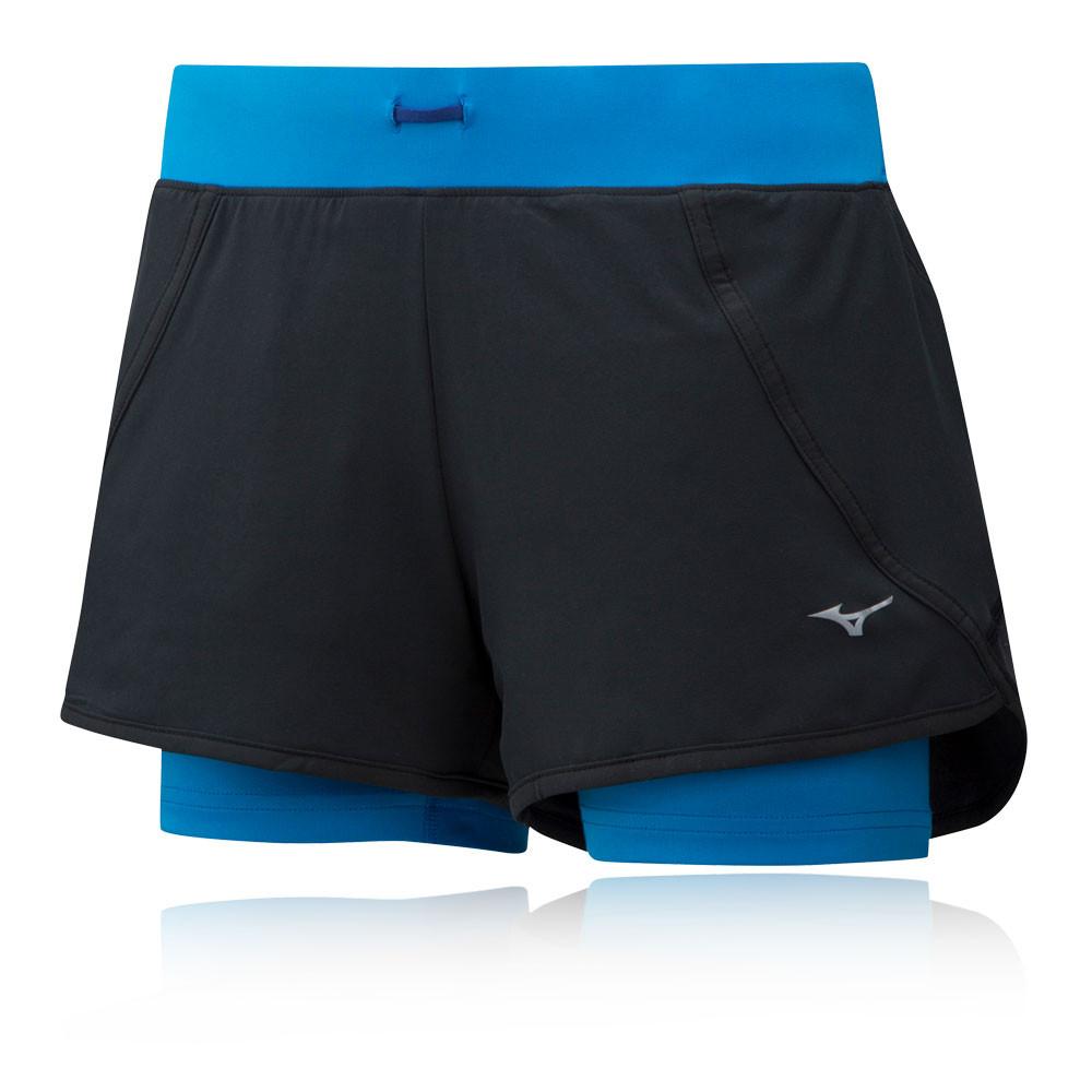 Mizuno Mujin 4.5 2in1 Women's Shorts - SS19