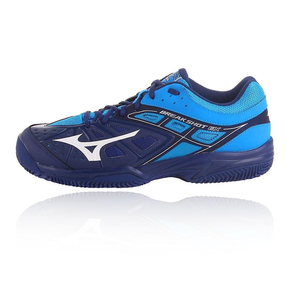 Chaussures Baskets De Hommes Tennis Court Shot Ex Sport Bleu Break Sur Mizuno Détails WQxBEoeCrd