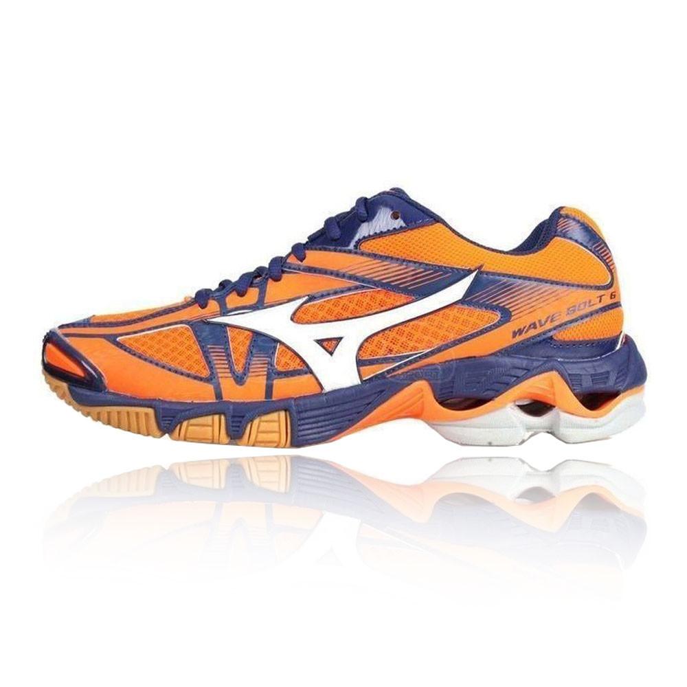 best service 8e134 d59c5 Mizuno Wave Bolt 6 Indoor Court Shoes