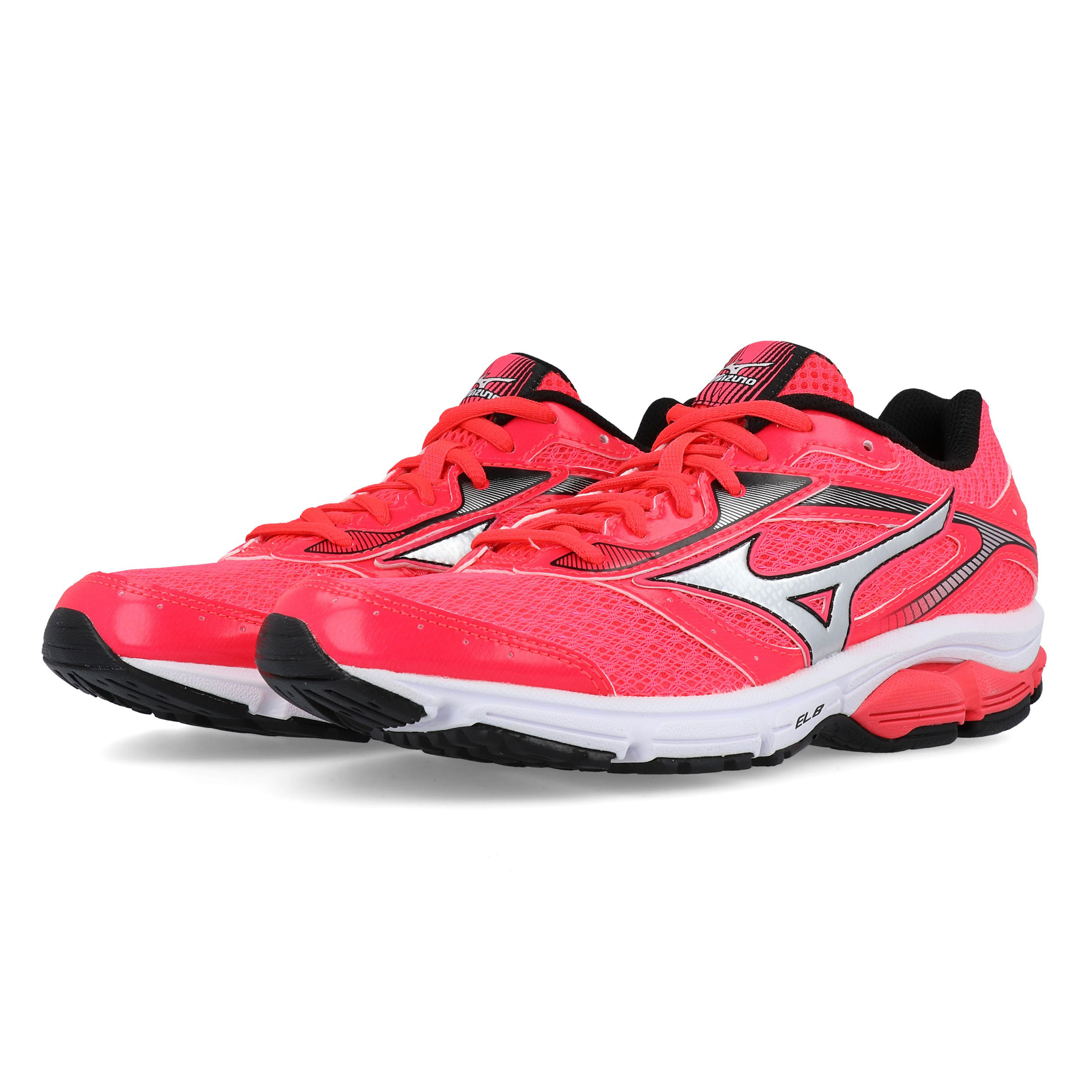 myynti verkossa paras arvo klassinen tyyli Details about Mizuno Womens Wave Impetus 4 Running Shoes Trainers Pink  Sports Breathable