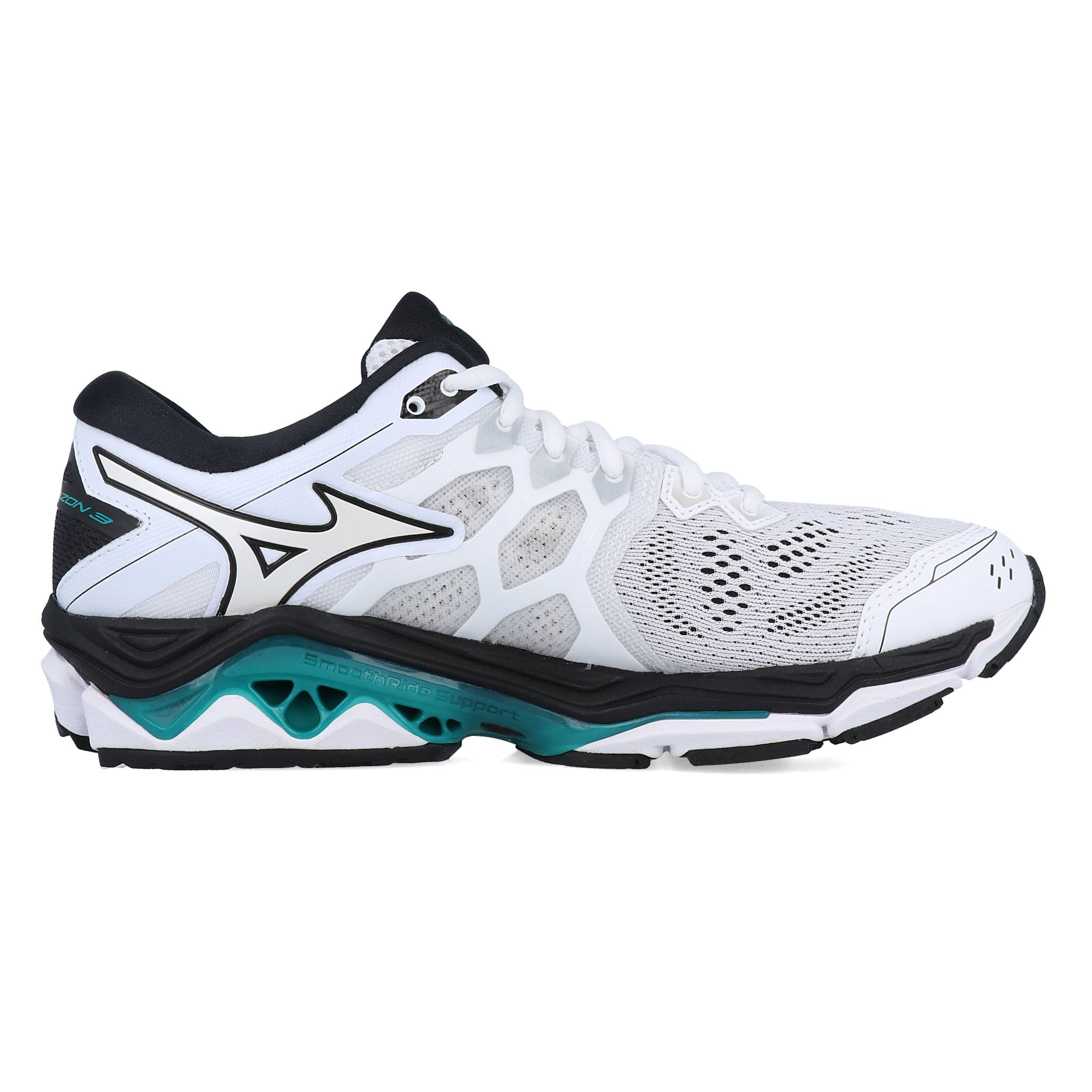 Dettagli su Mizuno Uomo Wave Horizon 3 Scarpe Da Corsa Ginnastica Sport Sneakers Bianco