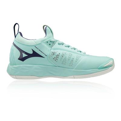 Mizuno Wave Momentum femmes chaussures de sport en salle