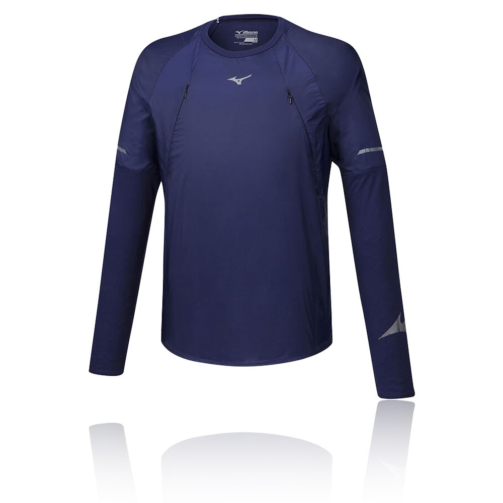Mizuno Hineri Hybrid Long Sleeve Top - AW19