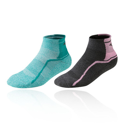 Mizuno Active Training Mid Socks (2 Pack) - AW19