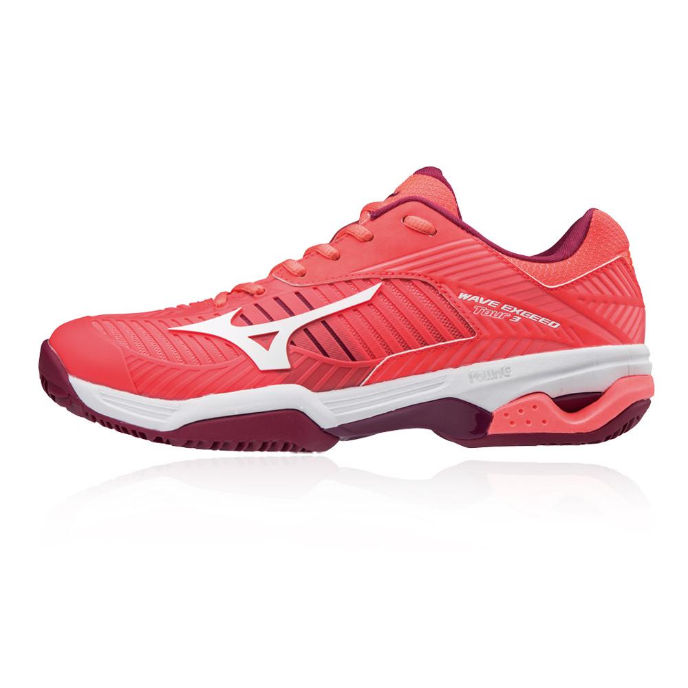 Mizuno Wave Exceed Tour 3 Women's Clay Court Tennis Shoes